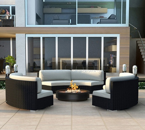Factory direct sale outdoor living furniture wicker lounge ... on Outdoor Living Wicker  id=62217