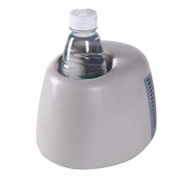 Portable Freezer Mini Usb Refrigerator Fruit Juice Bar Beverage Drink Car Fridge Auto Refrigerator Home Car Cooler Dormitory