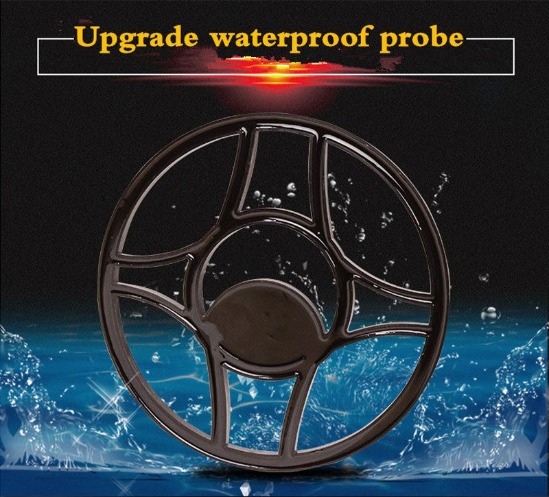 d' água de longo alcance detector de