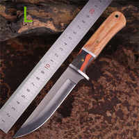 Knives Hunting Knife Survival Tactical Fixed Blade Knife Swiss Army Titanium Military Cuchillo Tactico Supervivencia Coltelli