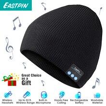 Беспроводной Bluetooth зимняя вязаная шапка, съемные наушники, моющиеся, подходит для спорта на открытом воздухе, лыжи, бег, катание на коньках, прогулки, подарки