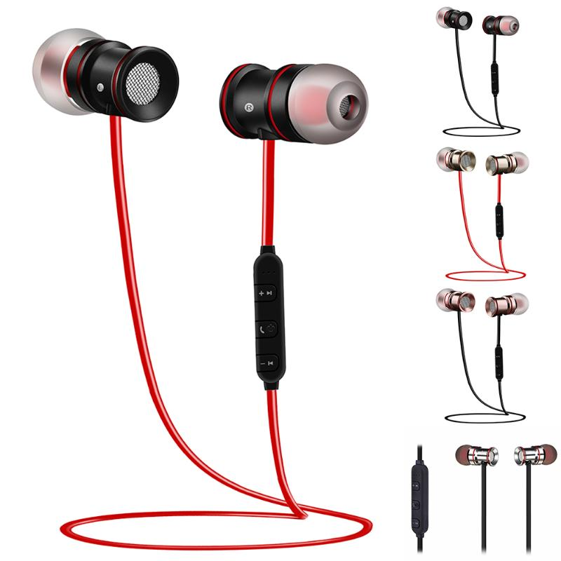 Sports Bluetooth Wireless Earphone, Metal In Ear Stereo Earpiece Echo Cancellation Earbuds Apt-x Voice Control with Mic Earphone interference cancellation methods in mimo ofdm systems