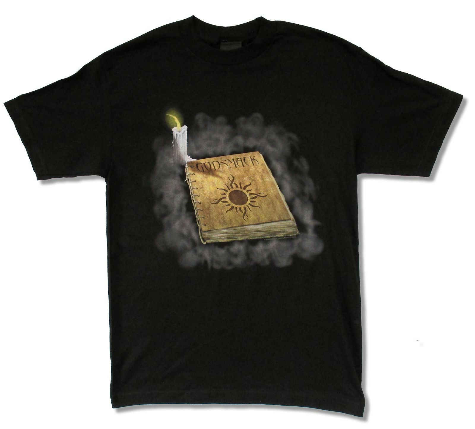 "GODSMACK ""BOOK OF SHADOWS"" BLACK T-SHIRT NEW 2000 OFFICIAL ADULT BAND"