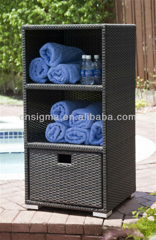 2014 Outdoor Towel rattan storage unit Deck box Storage Cabinet-in Storage  Boxes & Bins from Home & Garden on Aliexpress.com | Alibaba Group - 2014 Outdoor Towel Rattan Storage Unit Deck Box Storage Cabinet-in