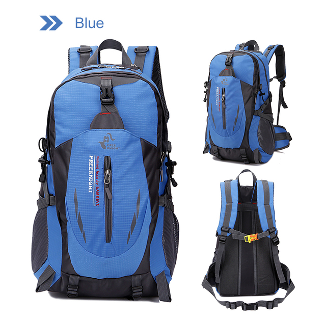 344566c9d7 Free Knight Outdoor Backpack Laptop Daypack 40L Waterproof Men Women Travel  Cycling Climbing Bags Hiking Camping Sports Backpack