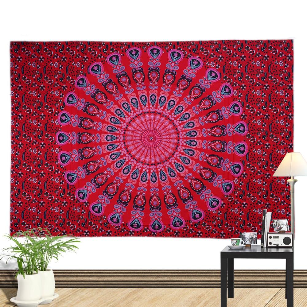Sommer strand håndklæde stor mediter trykt flora væg hængende - Hjem tekstil - Foto 2