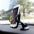 Rock Car Mobile Phone Holder Stand Adjustable Support 3.0 To 6.0 Inch 360 Rotate For iPhone Samsung Smart Phones VIA30 T18 0.4