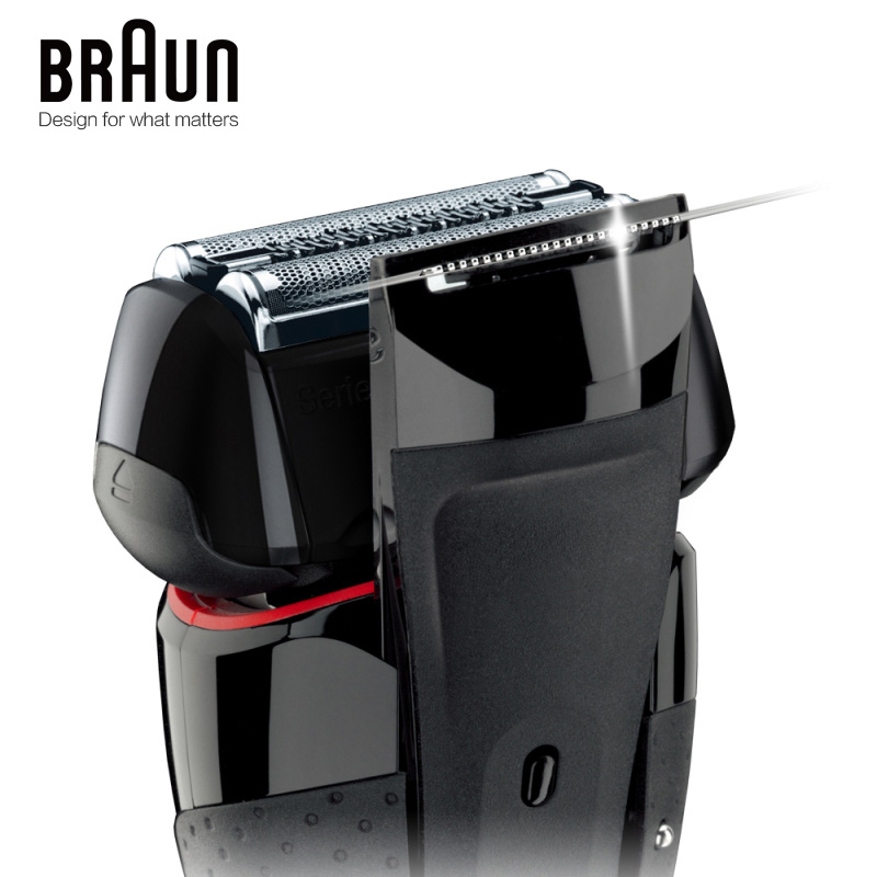 Image 4 - Braun Electric Razor Shaver 5030s For Men Rechargeable Blades High Quality Shaving Safety Quick Charge Reciprocating Triple Head-in Electric Shavers from Home Appliances
