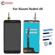 For Xiaomi Redmi 4X 4 X LCD Display+Touch Screen Replacement Digitizer Assembly For Xiaomi Redmi 4X display glass repair lcds wcdma mi4 lcd for xiaomi mi4 lcd display with touch digitizer glass assembly repair pantalla replacement parts for xiaomi mi4