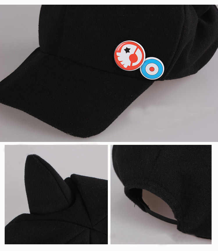 ... 2017 new Anime Neon Genesis Evangelion EVA Asuka Langley Soryu Cat Ear  Polar Fleece Cosplay Hat d01f159db17