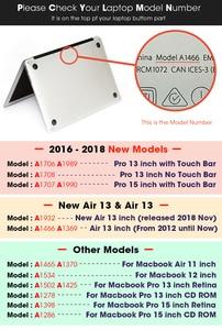 Image 5 - Nowy dla Notebook MacBook etui na laptopa pokrowiec Tablet torby na dla MacBook Air Pro Retina 11 12 13 15 13.3 15.4 cal Torba A1990