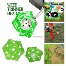 Триммер для сорняков, головка для газонокосилки, садовый поднос, точилка для косилки, новая мощная газонокосилка