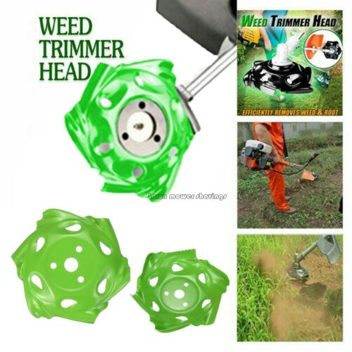 Weed Trimmer Head Lawn Weeding Garden Tray Mower Sharpener Power Lawn Mower New