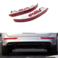 1 Pair Car Red LED Rear Parking Warning Lights Tailgate Reverse Light Fit for Audi Q5 2009 2016 Car Styling Accessories Decorate
