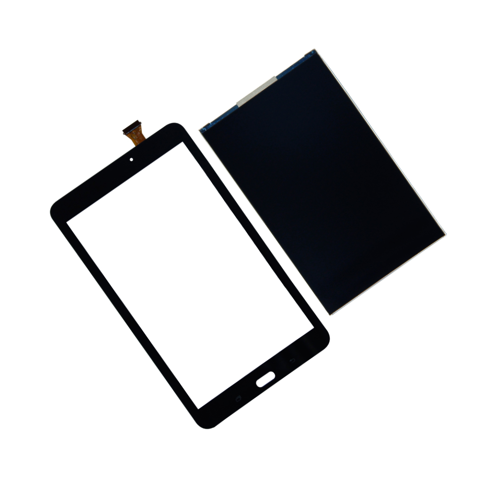 Touch Screen Digitizer +LCD Display For Galaxy Tab E 8.0 SM-T377A SM-T377P T377T T377V Assembly Panel Minitor Repair Parts lcd display touch screen digitizer repair parts full assembly for samsung galaxy a5 sm a500 a500f white black free shipping