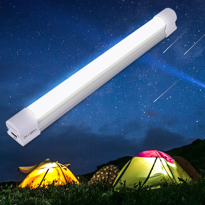 LED Magnetic Camping Hiking Light 5 Level Dimming Tent Lamp Portable SOS Emergency Lantern 4400mAh Rechargeable Battery