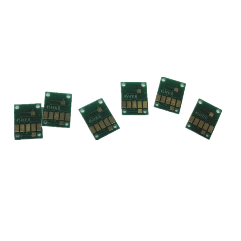 6 color 970 971 pgi-970 cli-971 שבב קבוע מחסנית מילוי ciss עבור מדפסת canon pixma mg7790