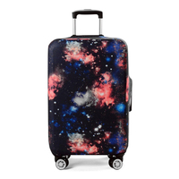 Elastic Galaxy Trolley Suitcase Cover For 18 32 Inch Luggage Protective Protect Dust Bag Case Travel