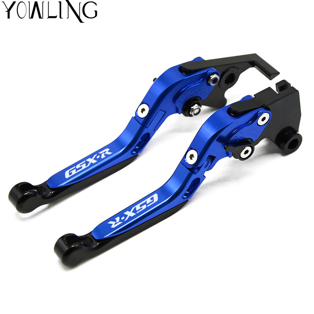 For Suzuki GSXR1000 GSXR 1000 K1 K2 K3 K4 2001 2002 2003 2004 Motorcycle Adjustable Folding Extendable Brake Clutch Lever Black motoo f 14 s 248 motorcycle brake clutch levers for suzuki gsxr600 1997 2003 gsxr750 1996 2003 gsxr1000 2001 2004 tl1000s
