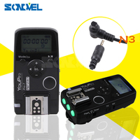 Pro7 N3 Wireless Shutter For Nikon Camera Timer Remote Flash Trigger High Speed For Canon 7D