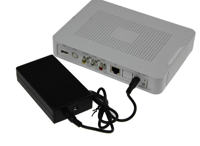 12V Uninterrupted Power Supply Backup Power Mini Battery For Security Camera