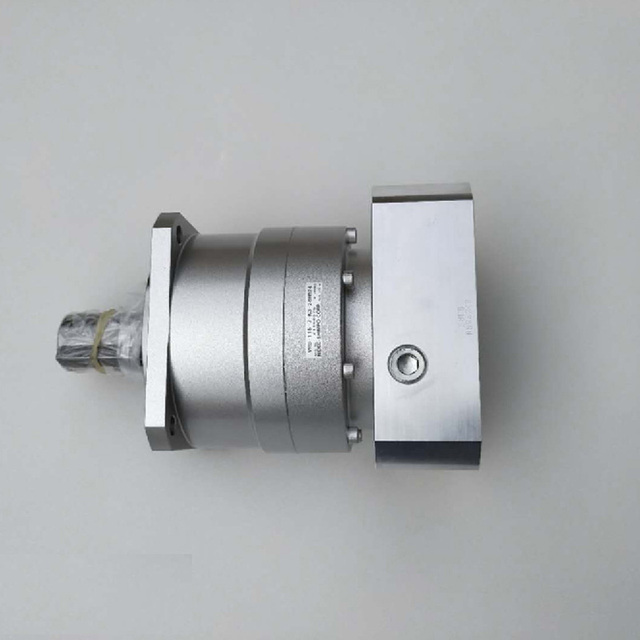 US $490 0 |NIDEC SHIMPO Inline Planetary Gearboxes High Precision Gearboxes  reducer box VRB 115 7 K3 28HB 24 for Yaskawa 1300w servo motor-in