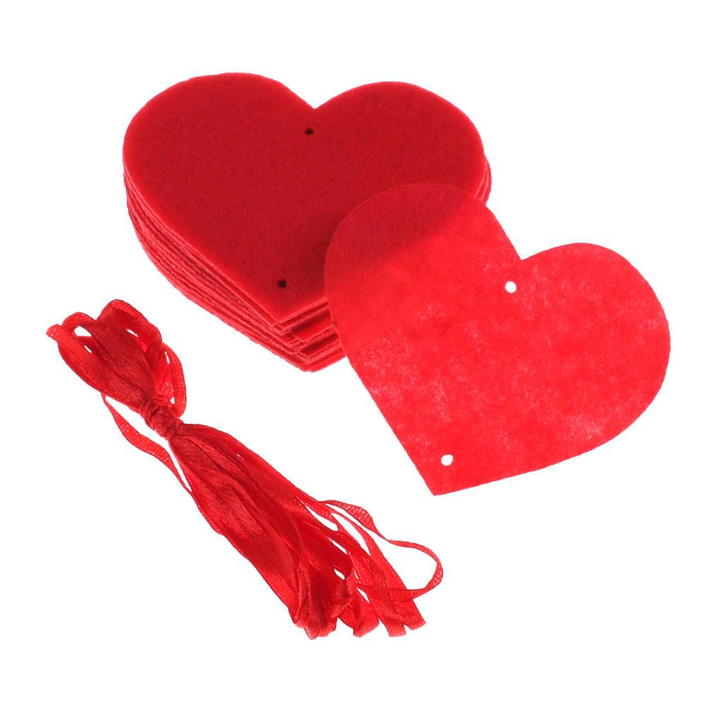 18 corações 3m romântico casamento decoração da sala de casamento layout diy não-tecido guirlanda amor criativo coração cortina suprimentos de casamento
