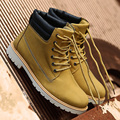 Men Autumn Boots 2016 new PU Leather men boots Hot Sell England cotton ankle boots Shoes men Warm Winter men shoes Motorcycle
