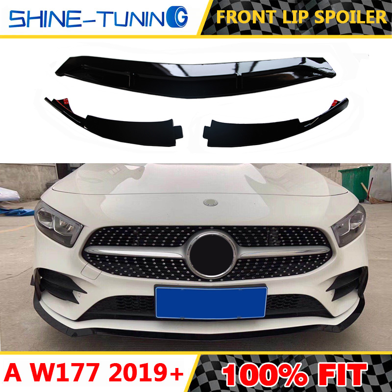Silver W177 A250 GTR GT R Style Car Front Bumper Mesh Grill