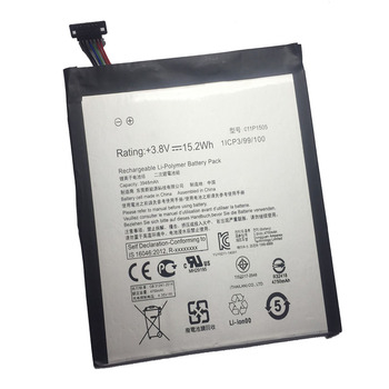 5pcs/lot New tab repalcement Battery C11P1505 For Asus ZenPad 8.0 Z380KL P024 Z380C P022 Z380CX 3948mah internal li-ion Battery