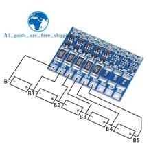 TZT 5S 4,2 в, балансировочная плата для литий-ионных батарей 18650 21 в, балансировочная плата для литий-ионных батарей с полным зарядом
