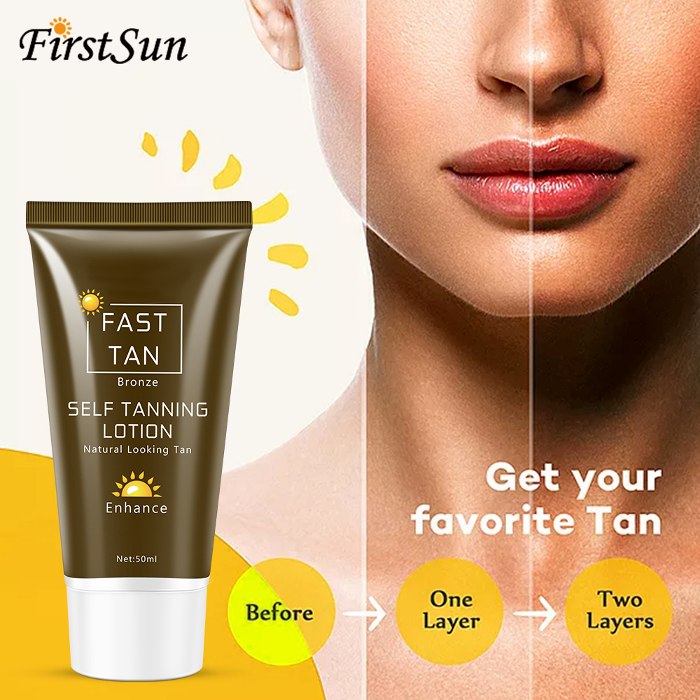 Bronzer Makeup-Foundation Solarium Cream Sun-Tan-Oil Tanning Fast-Spray The-Body Self-Tanner