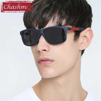 Chashma Gafas Sport myopia polaroid glasses men prescription occhiali da vista uomo con prescrizione Sunglasses Gold Mirror Lens - DISCOUNT ITEM  30% OFF All Category