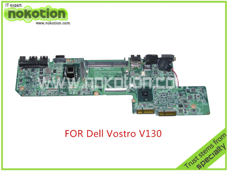 CN 01GM76 1GM76 For dell vostro V130 laptop font b motherboard b font i5 470um cpu