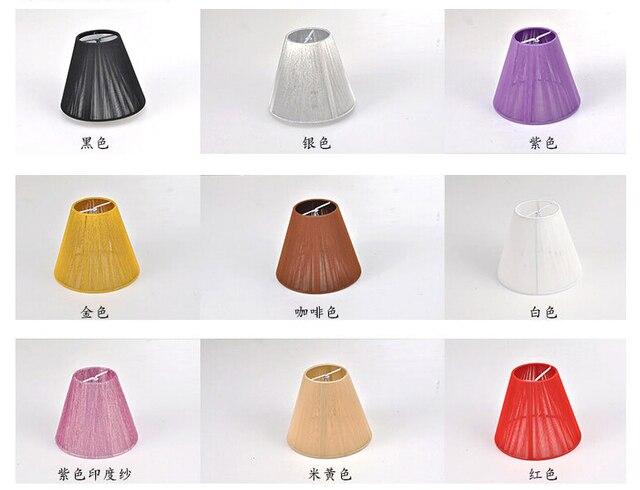 Lampadario tessuto disegno paralume art luci a sospensione per