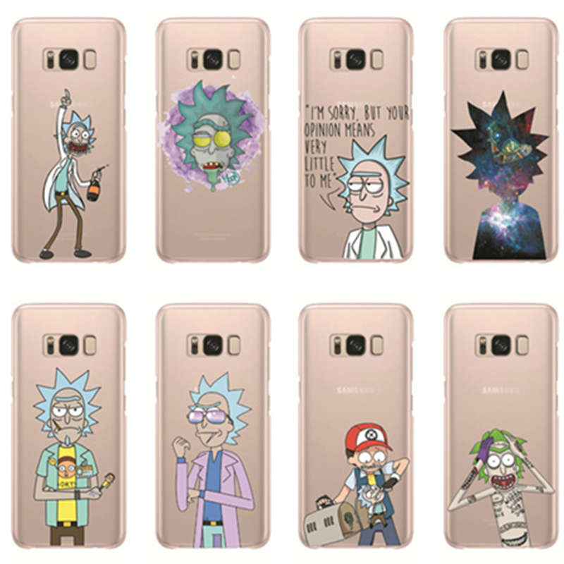 Kuliai Funny Cartoon Comic Meme Rick And Morty Case for Galaxy A3 A5 A7 J1 J5 J7 2016 2017 2015 Grand Prime image