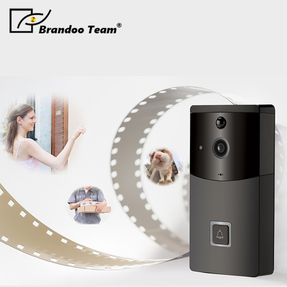 720P IP Video Intercom WI-FI Video Door Phone Door Bell WIFI Doorbell Camera For Apartments IR Wireless Security Camera цена