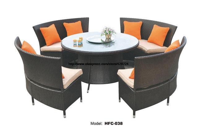Kreative Gartenmobel Rattan Sofa Stuhl Tisch Gesetzt 1 2 Mt