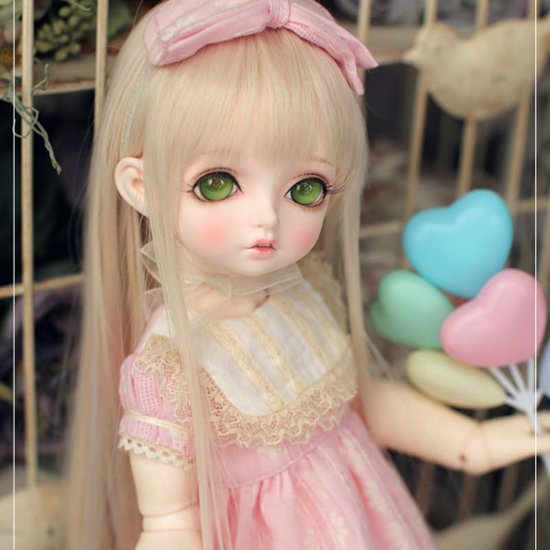 2018 New Arrival 1/4 BJD Doll BJD/SD Cute Bambi Resin Doll For Baby Girl Gift Include Eyes