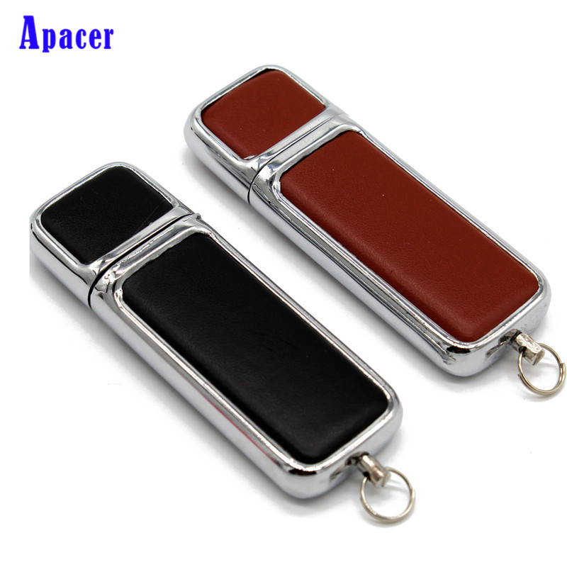 Apacer Leather USB Flash Drive pen drive 4GB 8GB 16GB 32GB 64GB commercial Pen drive memory card все цены