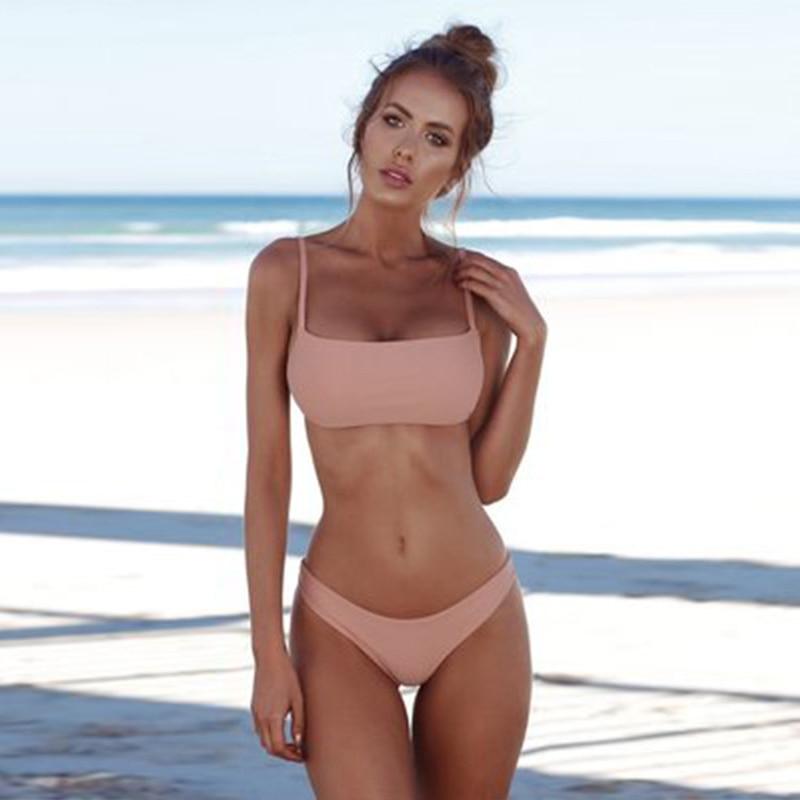 Classic Halter-Top Bikini Set 9