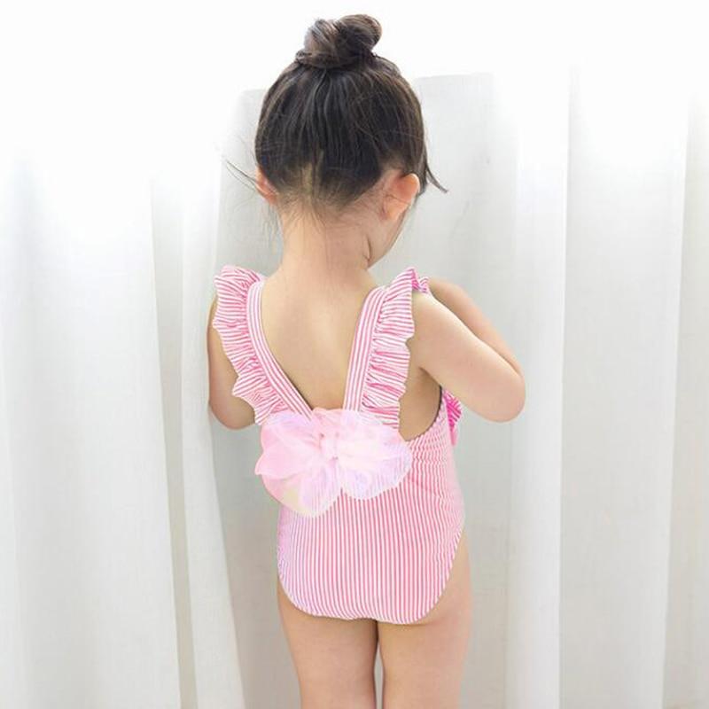 Nieuwste Leuke Baby Meisje Badmode Een Stuk Kids Meisjes Badpak Kid - Babykleding - Foto 4