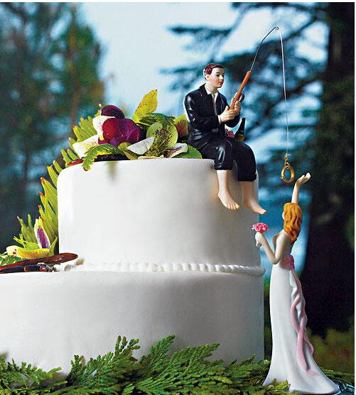 Online Get Cheap Fishing Wedding Cake Toppers Aliexpresscom