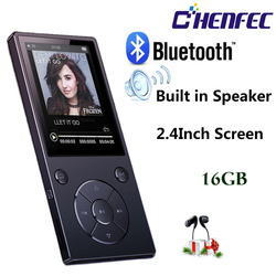 MP3 Player with Bluetooth Speaker touch button Slim metal hifi music player with fm radio eBook headphone hi fi usb mp3 walkman