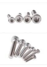 M1.4 DIN912/DIN 912 Hexagon Socket Head Cap Screw Cerrojo Boulon Bolts Pernos Tornillos Hex Bolt Allen Stainless Steel Screws stainless steel screws m2x20 din 912 a2 70 polished rohs 100 pcs