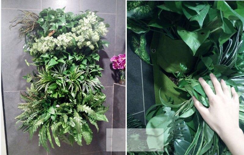 HTB121DSCxGYBuNjy0Fnq6x5lpXav - Wall Hanging Planting Bags Pockets Green Grow Bag Planter