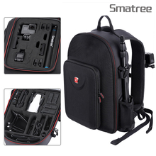 цена на Smatree For DJI Backpack Hard Case Water-resistant For DJI Mavic Air /GoPro Hero Session/ Hero 7/6/5/4/3ablet PC Customized