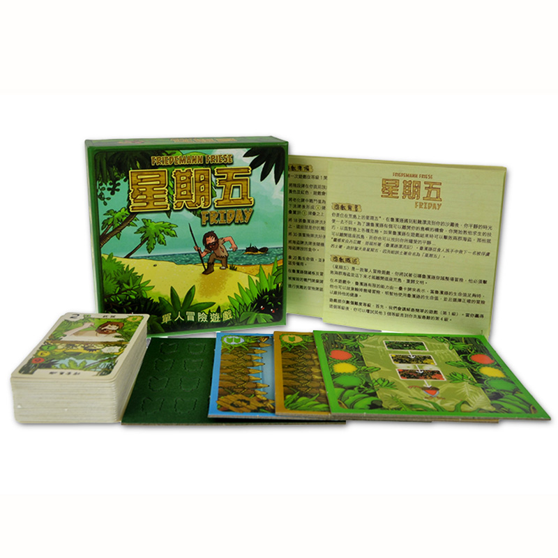 Friday Board Game 1 Players Family/Party Best Gift for Children Chinses Version Send English rules Single Adventure Game