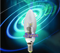 50pcs/lot,  High power led candle bulb  3W E14 ,330LM ,warm white,white,led lamp Energy saving Free shipping