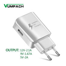 Quick Charger 2.0 For Samsung galaxy S6 Fast USB Charger 5V/2A 9V/1.67A Wall Adapter EU US Plug For Samsung Huawei LG XIAOMI цены